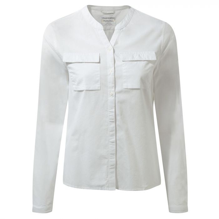 Ravello Long-Sleeved Shirt Optic White