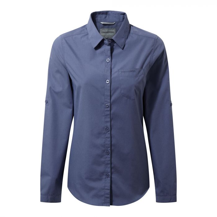 Kiwi Long-Sleeve Shirt - China Blue