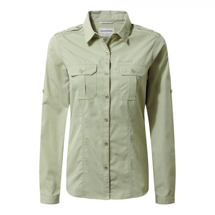 Adventure Shirt Bush Green