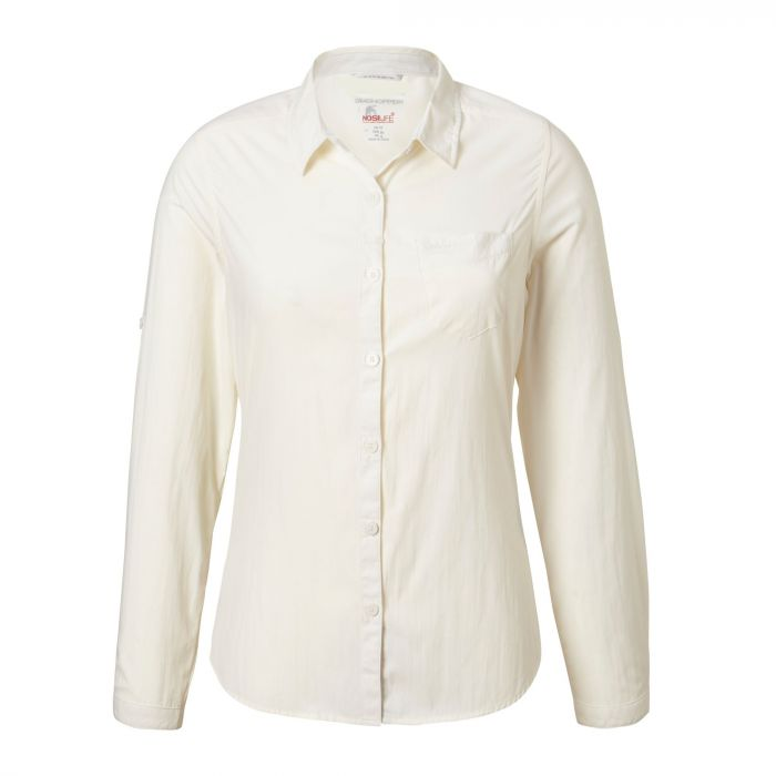 NosiLife Bardo Long-Sleeve Shirt - Sea Salt