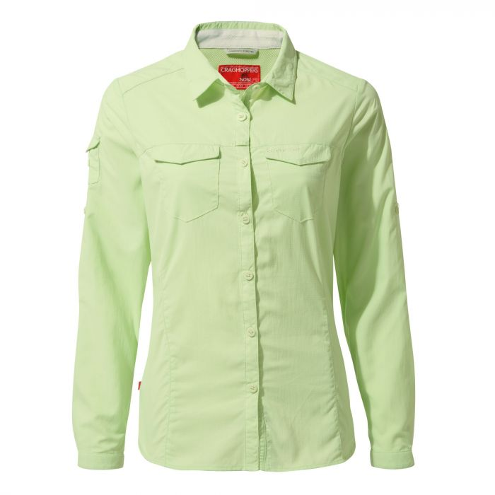 Insect Shield Adventure II Long-Sleeved Shirt - Soft Pistachio