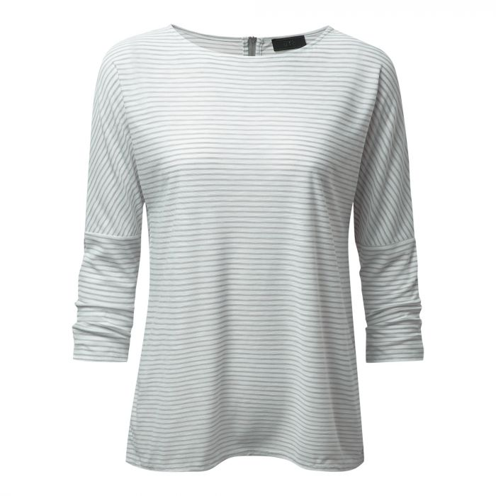 NosiLife Appleton langarm Tee Soft Grey Combo