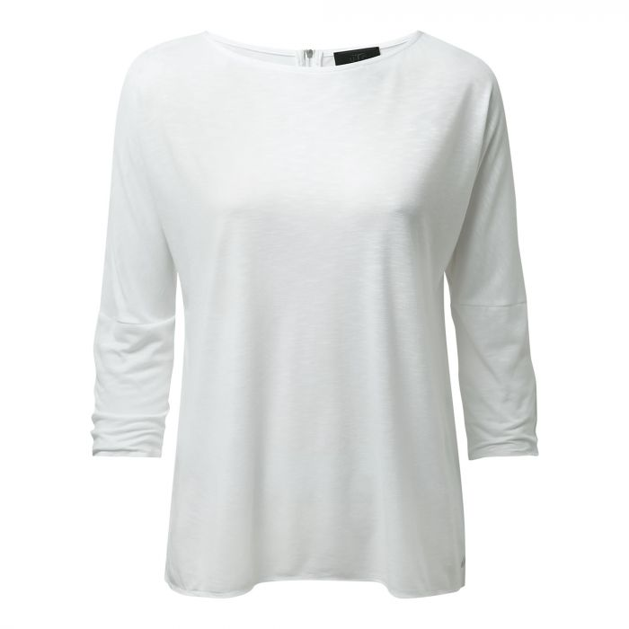 NosiLife Appleton langarm Tee Optic White