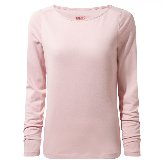 NosiLife Erin Long-Sleeved Top Blossom Pink