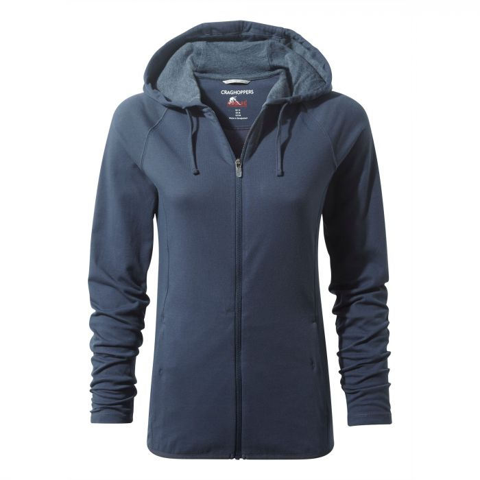 NosiLife Sydney Hooded Top - Soft Navy