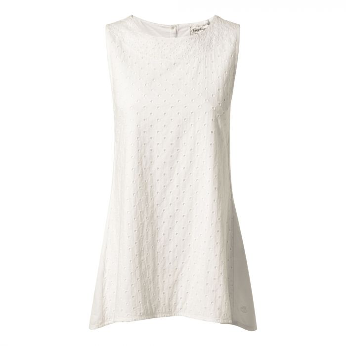 Noora Top Optic White