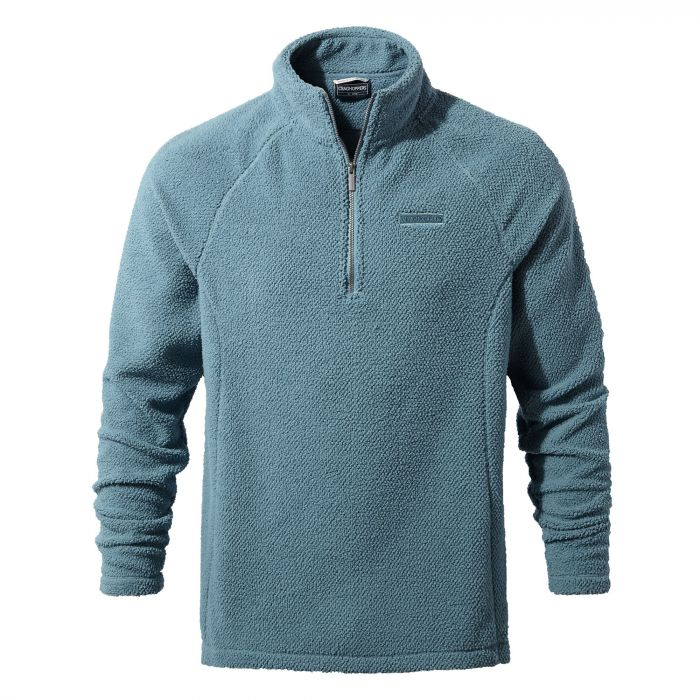 Barston Half-Zip Fleece Smoke blue