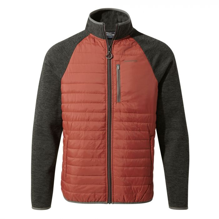 Monto Hybrid Jacket Red Earth