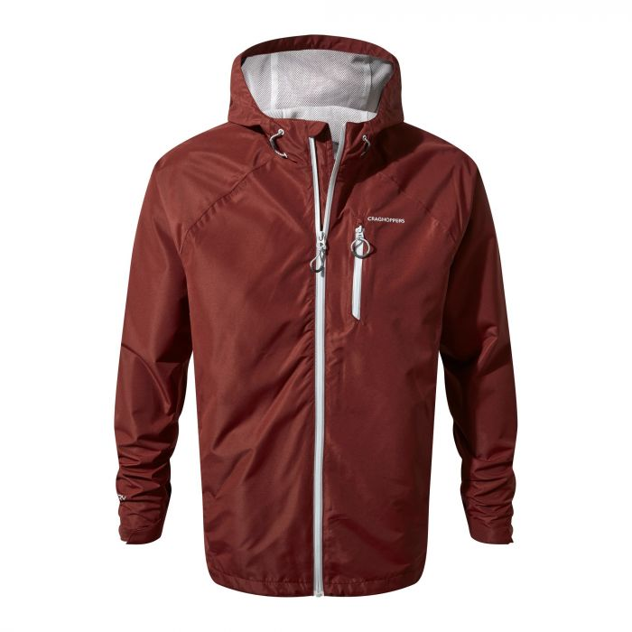 Crawney Jacket Red Earth