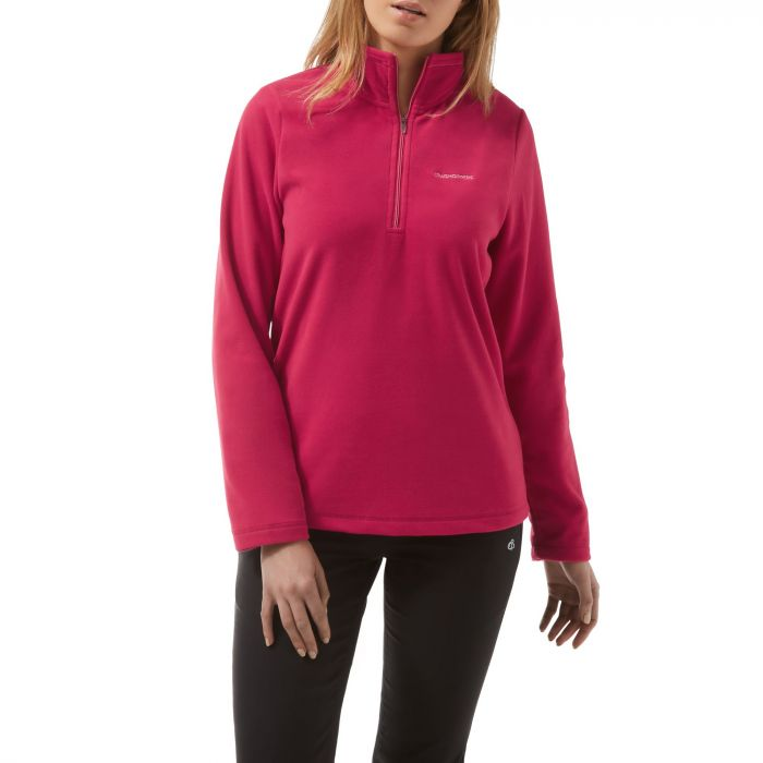 Miska III Half-Zip Fleece Tropical Pink