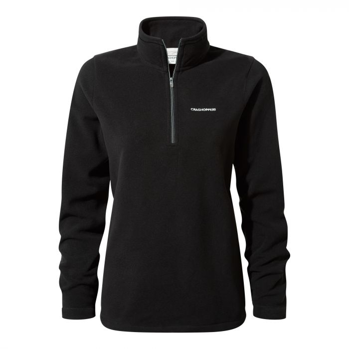 Miska III Half-Zip Fleece Black