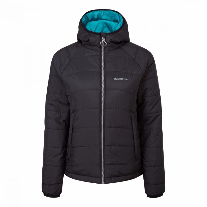 CompressLite Packaway Jacket Black / Lagoon