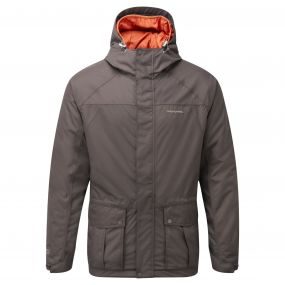 Kiwi 3 in 1 Compresslite Jacket Umber Brown Orange