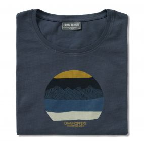 Eastlake Short-Sleeved Tee Ombre Blue
