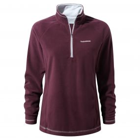 Seline Half-Zip Fleece Winterberry