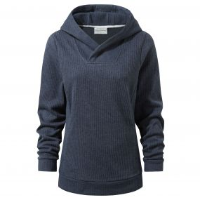 Callins Hooded Top Soft Navy Marl