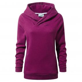 Callins Hooded Top Azalia Pink Marl