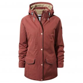 250 Jacket Dark Redwood