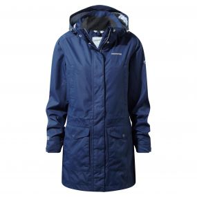Madigan III Long Jacket Night Blue