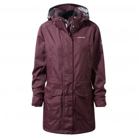 Madigan III Long Jacket Dark Rioja Red