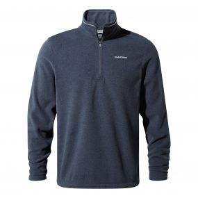 Corey III Half-Zip Fleece Blue Navy Marl