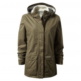 Steena 3in1 Jacket Dark Moss
