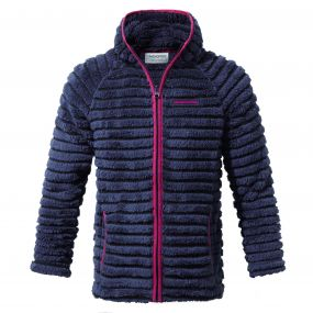 Farley Hooded Jacket Soft Navy Combo
