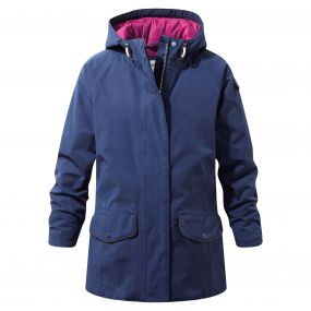 Girls 250 Jacket Night Blue