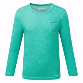 Insect Shield Louise T-Shirt Spearmint Marl