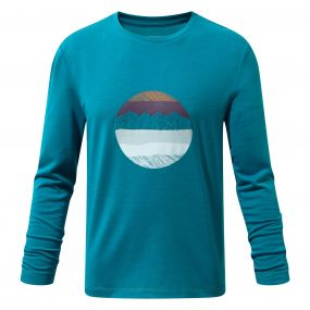 Erna Long-Sleeved Tee Forest Teal