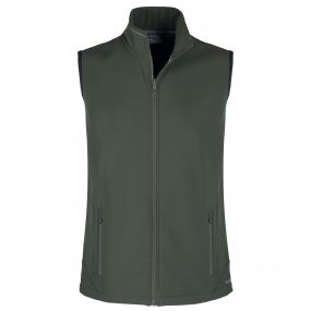Expert EssentInteractivel Interactive Softshell Vest Dark Green
