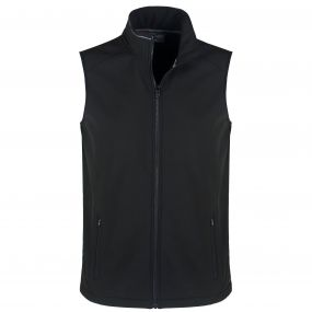 Expert EssentInteractivel Interactive Softshell Vest Black