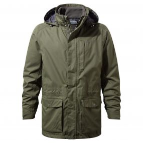 Kiwi Long 3-in-1 Jacket Parka Green / Dark Khaki