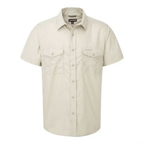 Kiwi Short-Sleeved Shirt Oatmeal