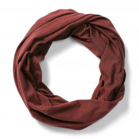 NosiLife Tube Scarf Carmine Red