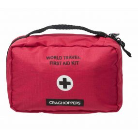 Travel First Aid Red