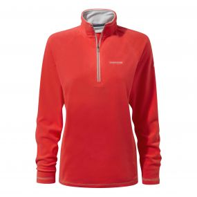 Seline Half-Zip Fleece VenetInteractiven Red
