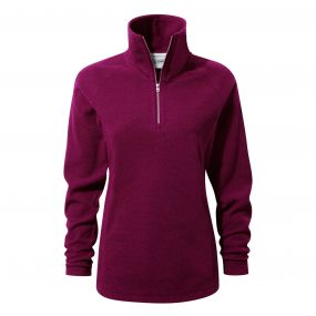 Delia Half-Zip Fleece Azalia Pink