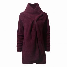 Erica Cardigan Winterberry Marl