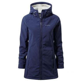 Ingrid Hooded Jacket Night Blue