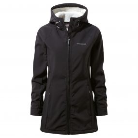 Ingrid Hooded Jacket Black