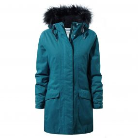 Inga Jacket Forest Teal
