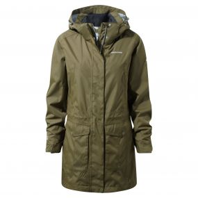 Madigan III Long Jacket Dark Moss