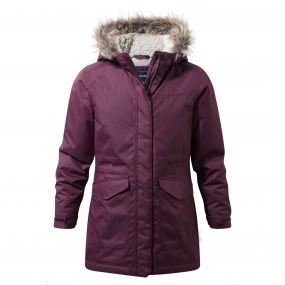 Louisa Parka Winterberry