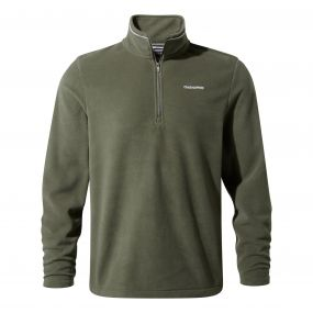 Corey III Half-Zip Fleece Dark Khaki