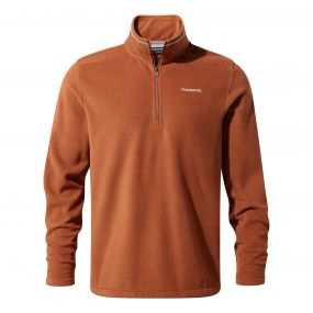 Corey III Half-Zip Fleece Red Squirrel