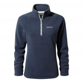 Moira Half-Zip Fleece Soft Navy