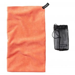 Microfibre Towel - Large Orange