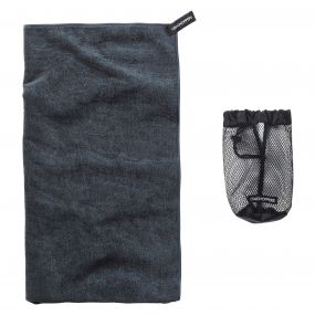 Large Microfibre Travel Towel Charcoal