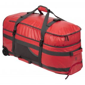 120 Litre Longhaul Luggage Bag Dynamite Red / Quarry Grey